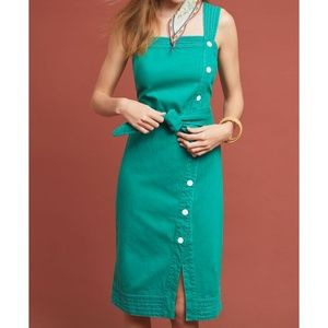 Anthropologie Button Front Dress